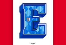The A to Z of Football / The only typographic football A to Z in the world. This collection explores the unique graphic language of football clubs, from club crest details, iconography and colour combinations, to historic kit references, symbolism and heraldry.
