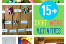 sight words / by Kamiann Hyer