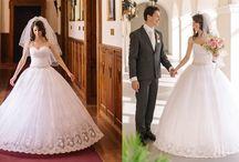 Naše najkrajšie nevesty / Malá ochutnávka našich nádherných zákazníčok, ktoré si dali ušiť svadobné šaty u nás na mieru.