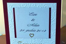 Handmade Wedding Invitations / Designs handmade wedding invitations