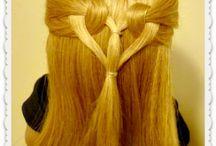 Långa frisyrer