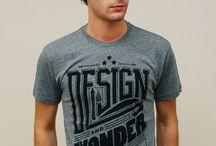 Typographic Shirts