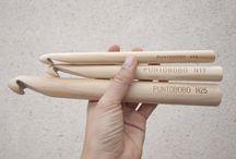 Puntobobo * Crochet XL / Agujas y ganchillos XL hechos artesanalmente en Murcia