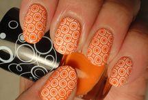 Nail design / Nail design, stamping