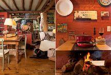 Ideias para a casa / Cozinhas Rusticas, Decoração, ideias criativas, novidades...