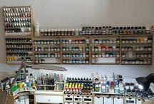 paint station