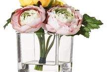 Flowers in glass vases / by Mrinalini Singh