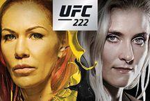 UFC 222 : Cyborg vs Kunitskaya - March 3, 2018 on Pay-Per-View