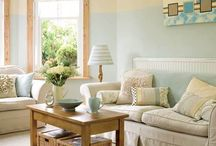 Home decor ideas / Home interiors, colours, prints, patterns, furnishes