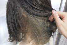 Medium short hair