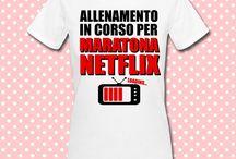 T-shirt donna / Abbigliamento donna personalizzabile con stampa ad alta definizione e resistenza!
