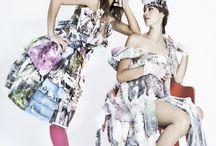Re_cycled Art Dress / Abiti di carta