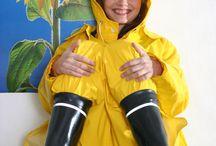 Rainsuit Rainbots Rubber Fetish