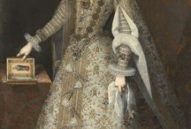 17th century Spanish Habsburg Queens