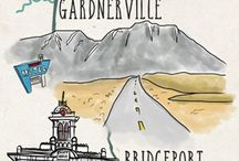 Wanderlust Designer Map & Travel Illustrations / I am an illustrator/artist who loves to experience the world creatively. Here is a sample portfolio of my map and travel illustrations. For more details, see my website & portfolio: www.wanderlustdesigner.com / by Wanderlust Designer