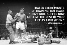 Quotes / Motivational words from some of the greats