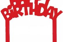 Decorazione per Torte Compleanno