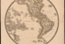 Maps of the World / All images are sourced from the University of Virginia Library digital repository.  All items are housed in the Albert and Shirley Small Special Collections Library, University of Virginia.