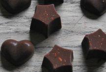 Selbst gemachte Schokolade