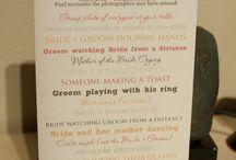 The Wedding Photos / by Brandy Lynn