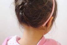 Little girl hairstyles. / by Sade Frunzi