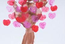 Valentine craft for PreK