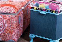 Bespoke Storage Box Project! / Bespoke storage furniture that I had commissioned with the wonderful Lora Jones!