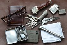 WIMB/EDC; What's In My Bag / Every Day Carry / by Lee Cherry