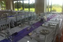 Wedding Tables / table arrangements
