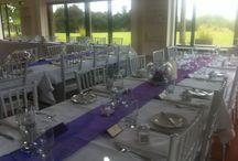 Wedding Tables / table arrangements