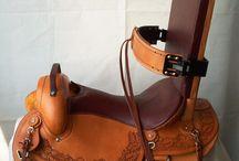monturas chavez / Exotic leather Saddles / by Jime Palma