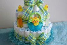 Diaper Cakes / by Linda Wayne