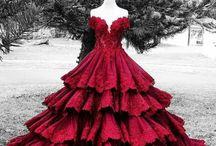 Színes esküvői ruhák (Hercegnős)