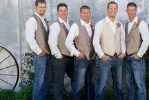 Groomsmen / Groomsmen, ring bearer, usher, and groom attire ideas
