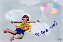 Sidewalk Fantasies / Sidewalk chalk art Portraits~ for anyone young at heart