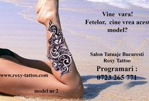 salon tatuaje bucuresti roxyy tattoo / modele tatuaje fete roxy tattoo