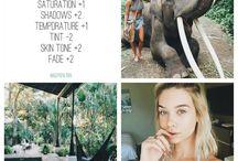 Inspiração de fotos, filtros e png / Dicas de poses, dicas de filtros e png