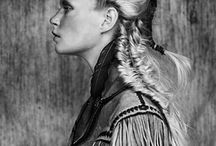 Braids and up-do's