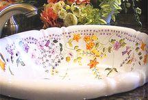 クラシカル 洗面ボウル / 英国風やヨーロピアン風のクラシカルな洗面ボウルをご紹介します。