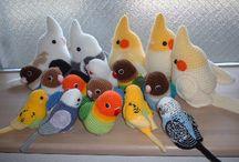 Oiseaux/ canards etc