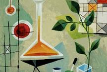 Laboratory still life