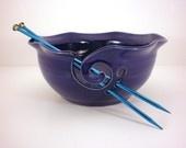 a yarn Bowl and shawl pins
