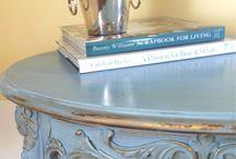 Louis Blue - kolor tygodnia/colour of a week- Chalk Paint decorative paint by Annie Sloan