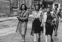 World War Two Women / women fighting and working in the war years