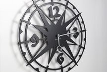 "Exotic clock COLOMBUS / Metal Wall clock Colombus-  40 cm / 16"" - Metal laser cutting - Design Jacques Lahitte © Tolonensis Creation - French Design - Made in Poland - www.tolonensis.com - You are interested with this clock ? Feel free to contact info@tolonensis.com http://www.delorentis.eu/exotic-clock-colombus.html"