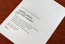 Classic invite inspiration / All things classic and timeless.