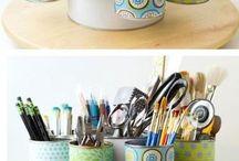 Boîtes papier peint / Boîtes recouverte papier peint