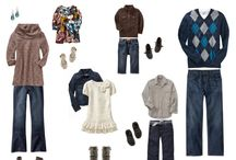 What To Wear -Photography / Ideas for what to wear to photo shoots for your family