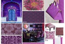 """2014 Color of the Year / Pantone's 2014 Color of the Year is Radiant Orchid. Here are some of my favorite design plays on purple in honor of this royal hue. For more, subscribe to my blog www.InsideDesign.TV follow my tweets @ADesignTourist and """"Like"""" my FB page at www.facebook.com/writerkarenleblanc"""