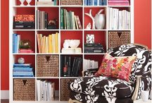 Bookshelf Styling / by julie r